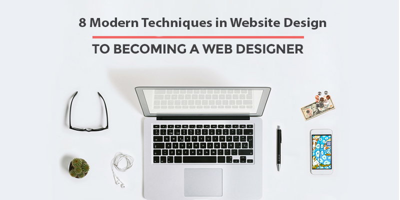 8 تکنیک مدرن در طراحی سایت